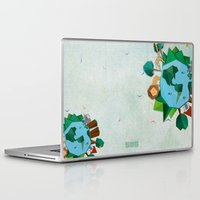 planet of the apes Laptop & iPad Skins featuring Planet by Design SNS - Sinais Velasco