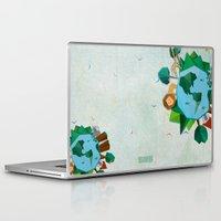 planet Laptop & iPad Skins featuring Planet by Design SNS - Sinais Velasco