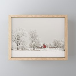 Winter Wonderland Framed Mini Art Print
