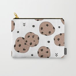 Chocolate chip cookie jar illustration pattern Carry-All Pouch