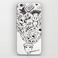 bad mood iPhone & iPod Skin