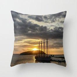 Sunrise Bar Harbor Maine Throw Pillow
