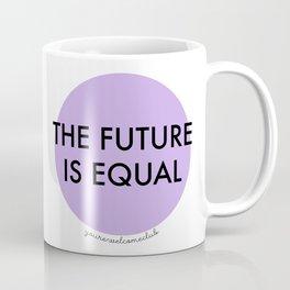 The Future is Equal - Purple Coffee Mug