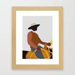 LANDMAND Framed Art Print