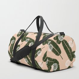 Palms & Dots #society6 #decor #buyart Duffle Bag