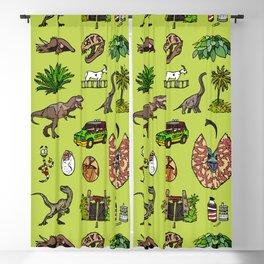 Jurassic pattern lighter Blackout Curtain