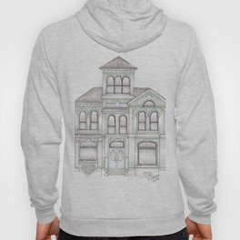 Green Italianate Victorian Hoody