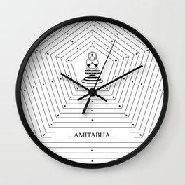 AMITABHA Wall Clock