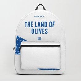 Greece the Land of Olives Backpack