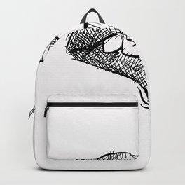 Lips Minimal Art Backpack
