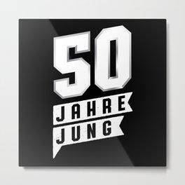 50 Years Jung 50th Birthday Present Metal Print