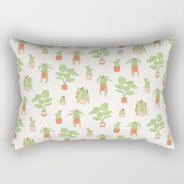 House Plants II Rectangular Pillow
