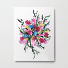 An Abundance of Flowers Metal Print