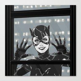 Catwoman Canvas Print