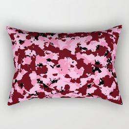 Bad Ass Pink Rectangular Pillow