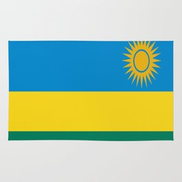 Flag of Rwanda Rug