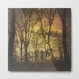 Vintage Forest Metal Print