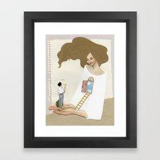 welcome in Framed Art Print