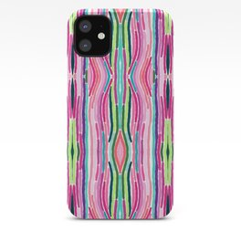 Mirrored Lines iPhone Case