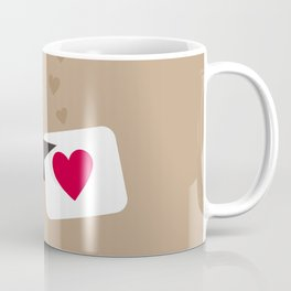 Enamoured bird Coffee Mug