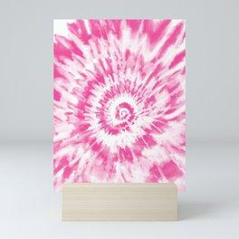 Light Pink Tie Dye Mini Art Print