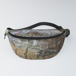 Close-up of bark texture Fanny Pack