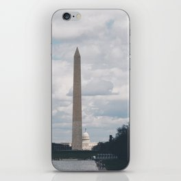 The Monument and the Capitol - Washington DC II iPhone Skin