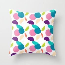 MAD-NZ ROUND CIRCLES Multi Throw Pillow