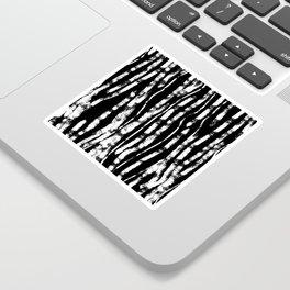 CURVY BIRCH TREE Sticker