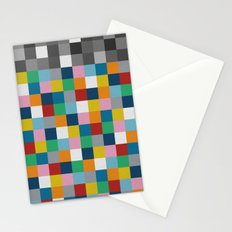 Colour Block with Topper #2 Stationery Cards