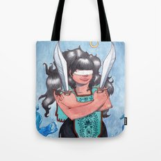 Two of Swords  Tote Bag