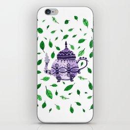 Fresh Green Tea iPhone Skin