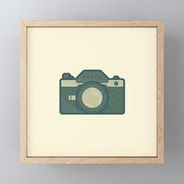 Retro Camera Icon Framed Mini Art Print