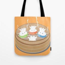 Steamy Dumplings Tote Bag