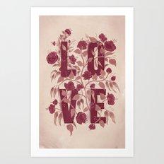 L-O-V-E Art Print