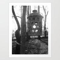 lantern Art Prints featuring Lantern by velitas