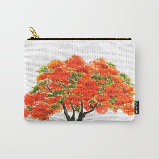 flame of the forest tree Carry-All Pouch