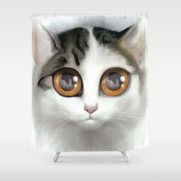 Kitten 1 Shower Curtain