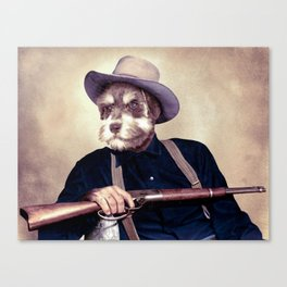 Wayne Dog Canvas Print