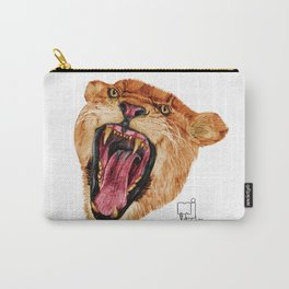 lion 6_head Carry-All Pouch