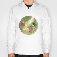 grantaire Hoodies featuring R & the Naiad by foxflowers
