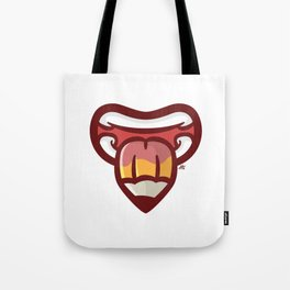 Pencil Mouth Tote Bag