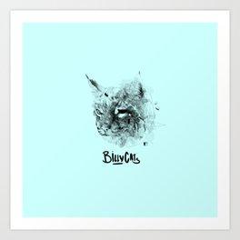 Billy Cats Art Print