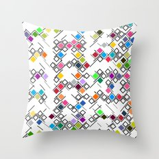 ColourPlane v1 Throw Pillow