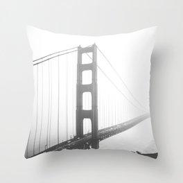 Golden Gate Bridge in San Francisco, California Throw Pillow