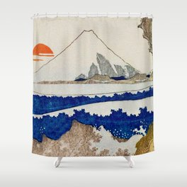 The Coast Searching Shower Curtain
