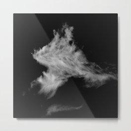 Whisp and Vapor High Contrast I Metal Print