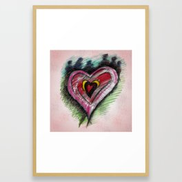 Whirlwind of Happy Framed Art Print