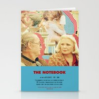 notebook Stationery Cards featuring The Notebook - Nick Cassavetes by Smart Store