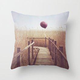 Secret Destinations Throw Pillow
